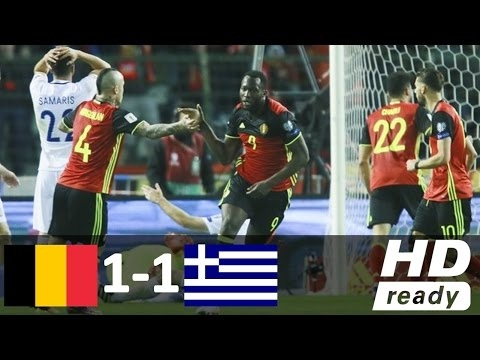 Belgium vs Greece 1-1 - All Goals and Highlights - World Cup 2017/18 HD