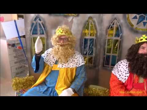 Visita de los Reyes Magos al CEIP Sebastián Urbano Vázquez de Isla Cristina