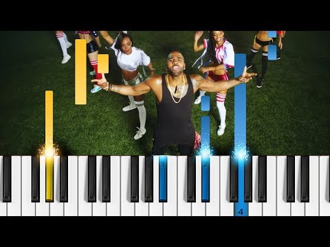 Jason Derulo - Colors - EASY Piano Tutorial [2018 FIFA World Cup Anthem]