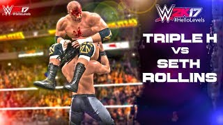 Playing As SETH ROLLINS vs Triple H In WWE 2K17 I'll Be Playing More Of WWE 2K17 On This Channel. If That Sounds Good...
