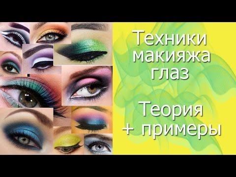 Макияж глаз с примерами