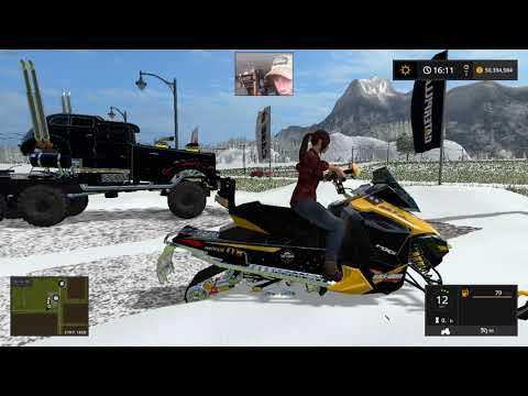 Snowmobile ski doo v1.0
