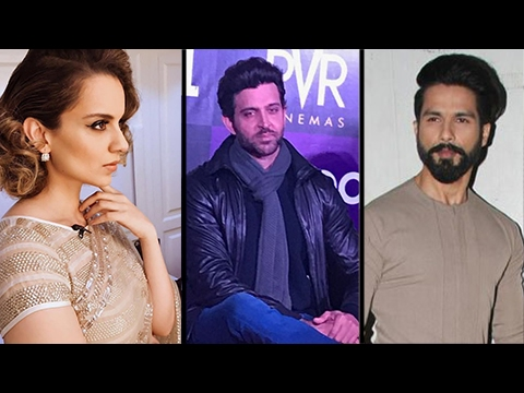 Kangana Ranaut INSULTS Shahid Kapoor And Compares