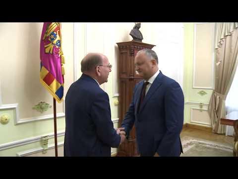 Президент Республики Молдова провел рабочую встречу с послом Российской Федерации в нашей стране
