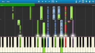 Coldplay - The Hardest Part Piano Tutorial - How to play - Synthesia Cover