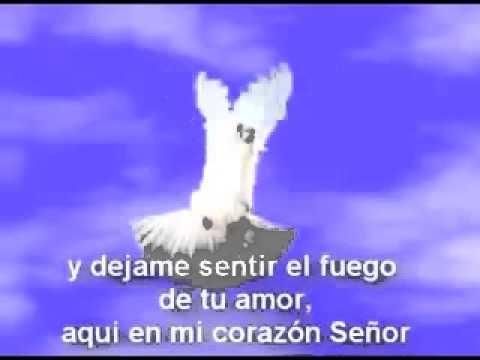 BAUTIZAME SEÑOR CON TU ESPÍRITU Y DÉJAME SENTIR EL FUEGO DE TU AMOR