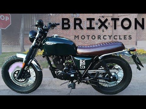 BRIXTON BX 125 SCRAMBLER