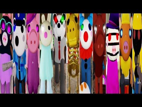 Playing as ALL FINAL CHARACTERS! Roblox PIGGY CHAPTER 12 New Update