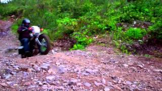 6. Yamaha TW200 fun.