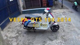 8. REVIEW ++ VESPA GTS 150 Jakarta Indonesia  || Hit 100 !!!