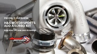 9. H&S Motorsports ECODiesel Add a Turbo Kit Overview