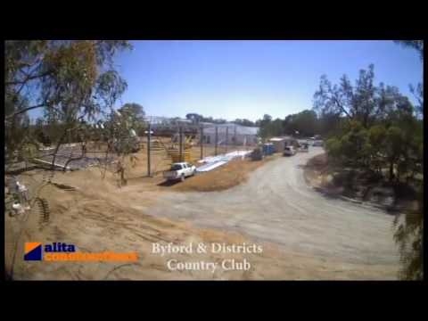 Byford & Districts Country Club Construction Time lapse