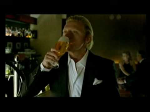 König Pilsener Beer Commercial (German) - Boris Becker