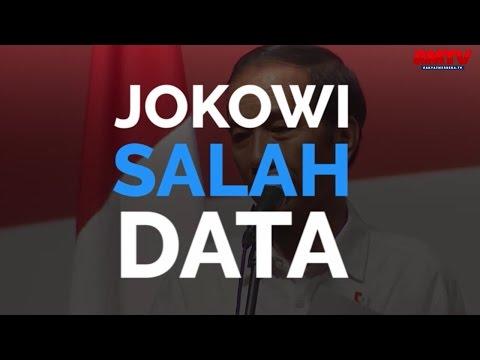 Jokowi Salah Data