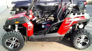 2. 2016 Z-Force 500 Trail walk around/ ride. *sold*