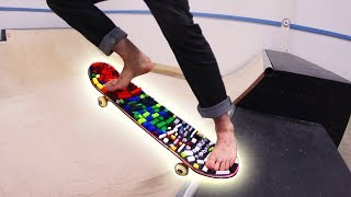 Video BAREFOOT LEGO SKATEBOARDING! *PAINFUL* MP3, 3GP, MP4, WEBM, AVI, FLV Agustus 2017