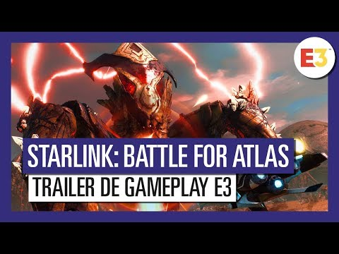 Starlink Battle for Atlas - Trailer de Gameplay - E3 2018 - VOSTFR HD