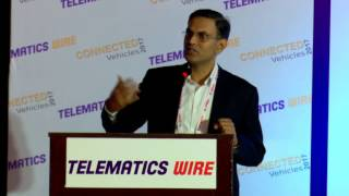 Shridhar VS, Senior Vice President, Tata Communications - Connected Vehicles 2017, Chennai