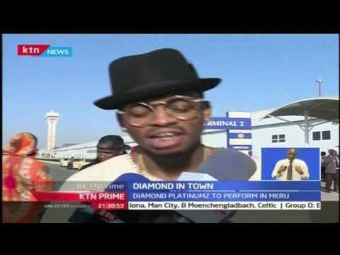 Tanzanian star musician, Diamond is in Town courtesy of Radio Maisha