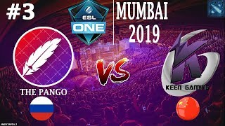Pango vs KG #3 (BO3) | ESL One Mumbai 2019