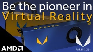 The Radeon™ Vega Frontier Edition graphics card, AMD's fastest Radeon™ VR Ready Creator graphics card today, provides the ...