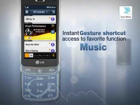 0 in LG GD900 – Handy im transparenten Design