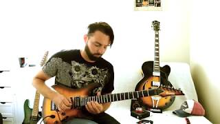 Some Gratuitous shreddery here, just to keep the old fingers moving! Please give it a thumbs up if you enjoyed it, comment below and I'll reply. Subscribe (if you want to). I am basically playing 3 different Lydian Modes here...if you folks would enjoy playing along to this (or any other backing track) just let me know and I'll upload it here for you. All the best.