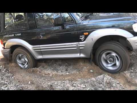 Hyundai Galloper off road