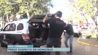 Preso suspeito de matar jovem em Dois Córregos no mês passado