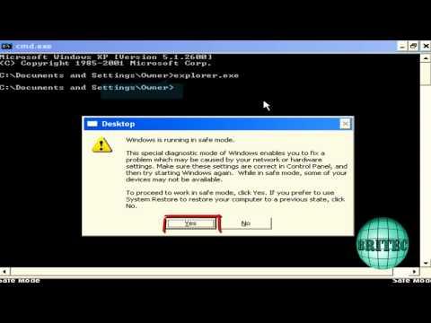 Fix Windows XP Activation Infinite Loop by Britec