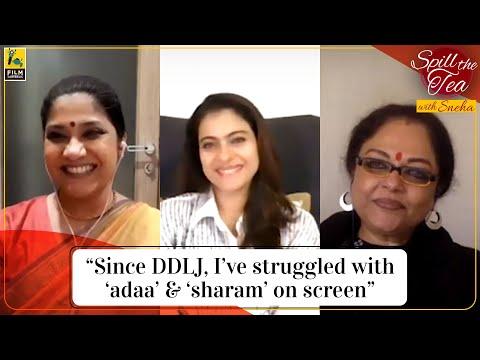 Kajol, Tanvi Azmi, Renuka Shahane | Tribhanga | Spill the Tea with Sneha | Film Companion
