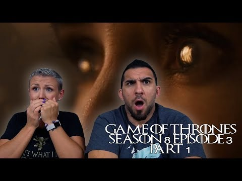 Game of Thrones Season 8 Episode 3 'The Long Night' Part 1 REACTION!!
