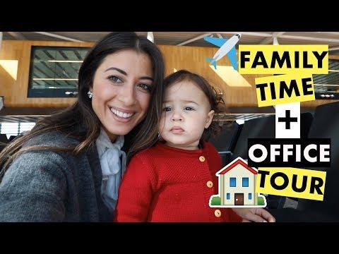 Family Time + New Luxy Hair Office Tour | Mimi Ikonn Vlog (видео)