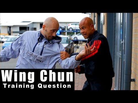 wing chun training – how to deal with grab and punch in the street Q33