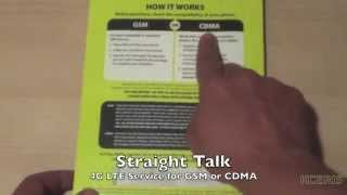 "Vid088  Straight Talk/TFW  BYOP Activation Kit GSM or CDMA Follow http://kceris.comThis video features the soundcloud song(s) terem/terem-til-the-clouds-i, tom-misch/in-a-special-way, tom-misch/euphoric, available under a Creative Commons ""Attribution"" license.It is important to note that the OLD Straight Talk Sim Cards (T-Mobile Compatible or old AT&T Sim Cars) don't support LTE, so if you try to setup your device using an old sim card, chances are that you will not be able to configure the Straight Talk LTE APN Settings on your device. You can use it just on 3G and not 4G LTE.Any seem card that was purchased before September 2013 is considered old, in this case you should purchase a new Sim Card and try again. In late 2013 Straight Talk wireless started making additional changes to their network. I had settings to work around this although Straight Talk is breaking the settings down to the sim card no longer allowing the setting to stick properly.Finally you can either order this new sim from ST for free or go to a walmart you have to buy it bundled with the $45 card making the total $60+tax. Sometimes it is a matter of time, some users experience issues and after one or two days, the LTE just start working magically, this happens more often with new lines or Numbers that have been ported from another service provider."