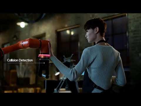 HYRobotics Collaboration Robot:  HCR-5 by Hanwha Techwin !