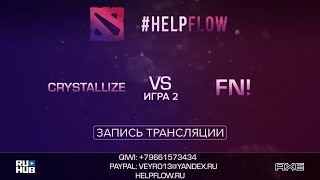 Crystallize vs Fn!, Flow Tournament 1x1, game 2 [Adekvat, Smile]