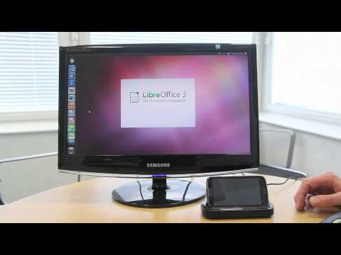 Canonical demos LibreOffice on Ubuntu for Android