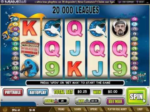 Miamiclubcasino.im - 20,000 Leagues (Slot Review)