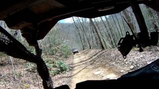 3. PIONEER 1000-5  FOLLOWS MUDD MAN IN WV MOUNTAINS IONX0008