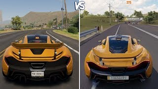 The Crew 2 vs Forza Horizon 3 - McLaren P1 Gameplay Comparison HD