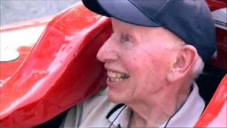 John Surtees With Fernando Alonso And Jake Humphrey BBC F1 2011.The only man to win world titles on both two and four wheels, has died on this day aged 83. Our thought are with his family.
