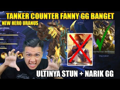 Video NEW HERO TANKER YANG BISA COUNTER FANNY GG BANGET - Mobile Legend Bang Bang download in MP3, 3GP, MP4, WEBM, AVI, FLV January 2017