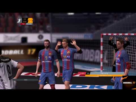 THW Kiel – Fc Barcelona | EHF Champions League | Handball 17 | PS4