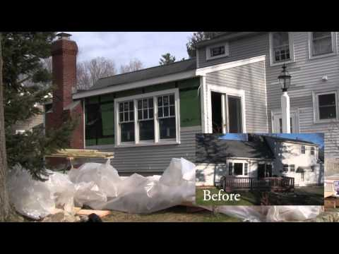 Kitchen Remodel and Addition Westwood MA
