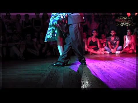 Técnica de piernas en tango legs technique , Carolina Couto y Emanuel Ledesma