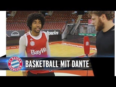 Dante beim FCB Basketball