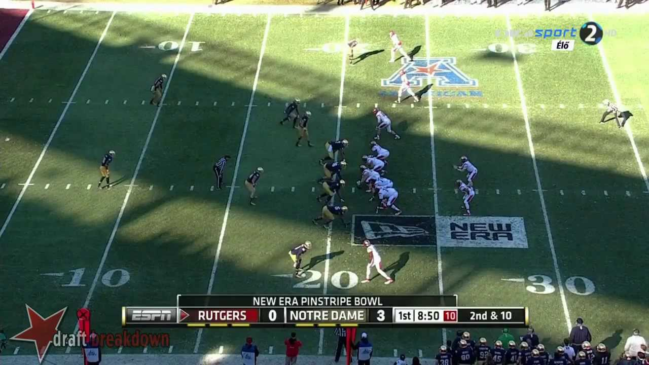 Brandon Coleman vs Notre Dame (2013)