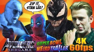 AVENGERS: ENDGAME SUPER BOWL Weird Trailer | 4K – 60fps | FUNNY SPOOF PARODY by Aldo Jones