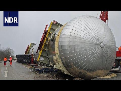 Gas-Tank im Graben | die nordreportage | NDR